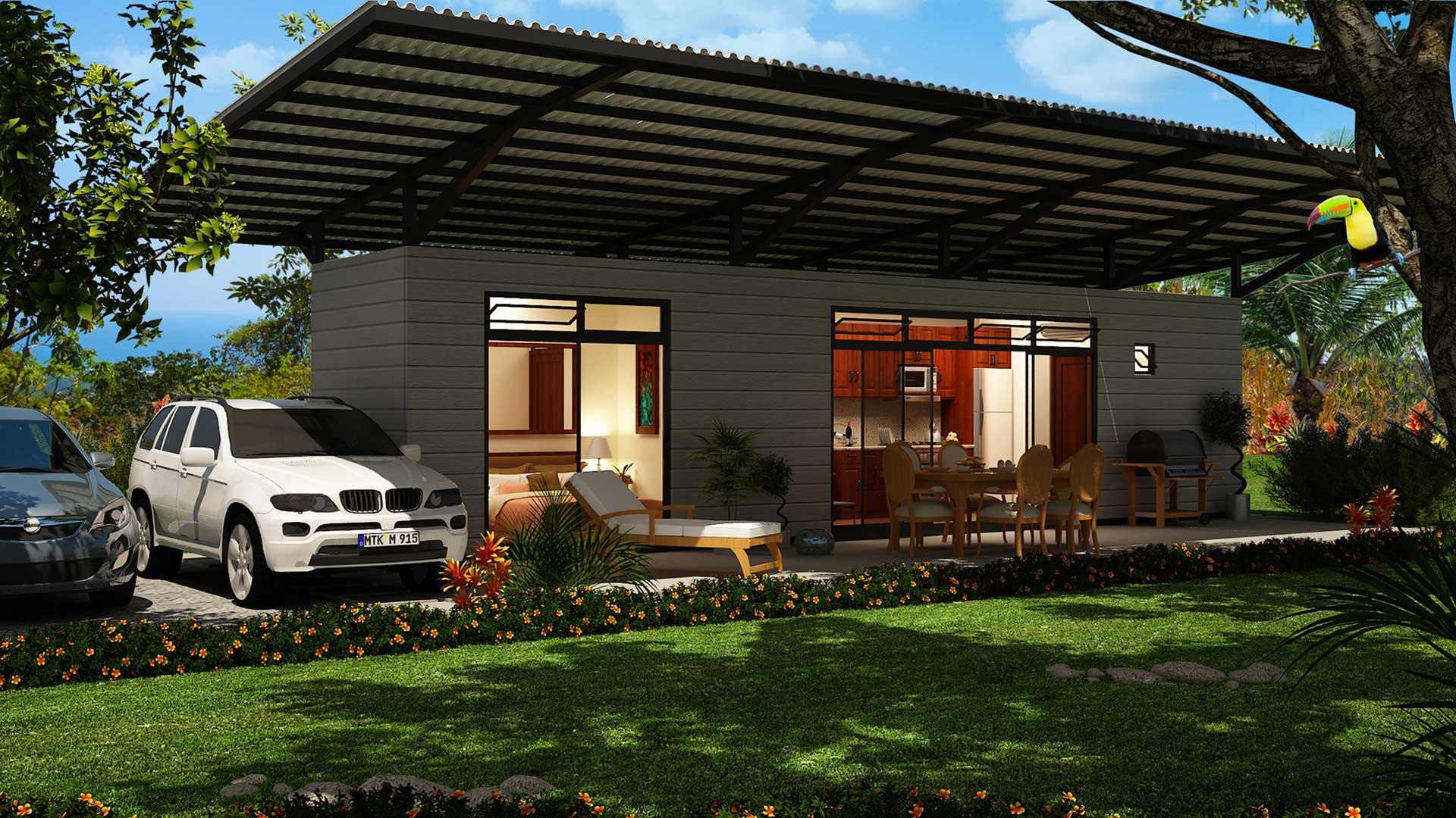 Costa rica container homes in playa hermosa homes for sale for Costa rica house plans